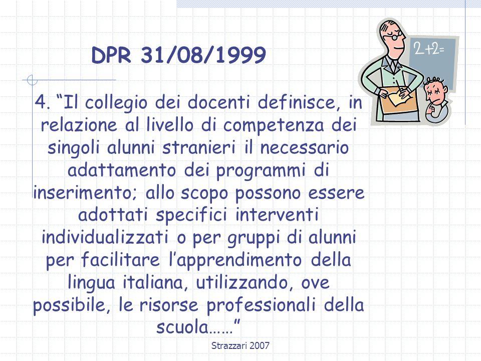 DPR 31/08/1999