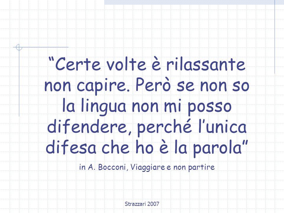 in A. Bocconi, Viaggiare e non partire