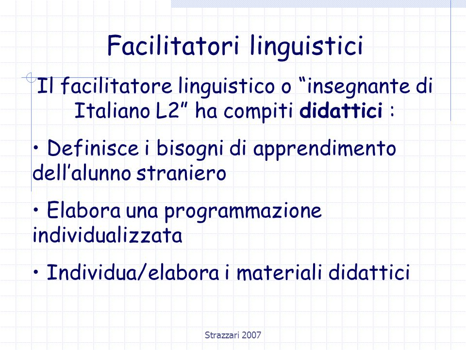 Facilitatori linguistici
