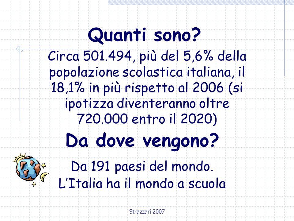 L'Italia ha il mondo a scuola