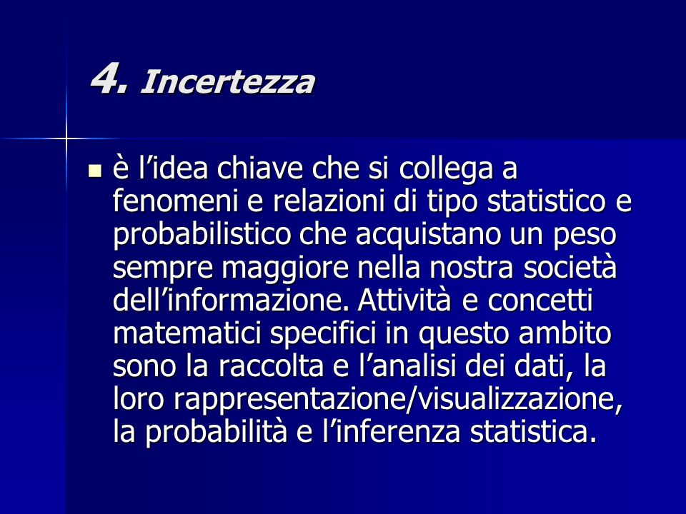 4. Incertezza