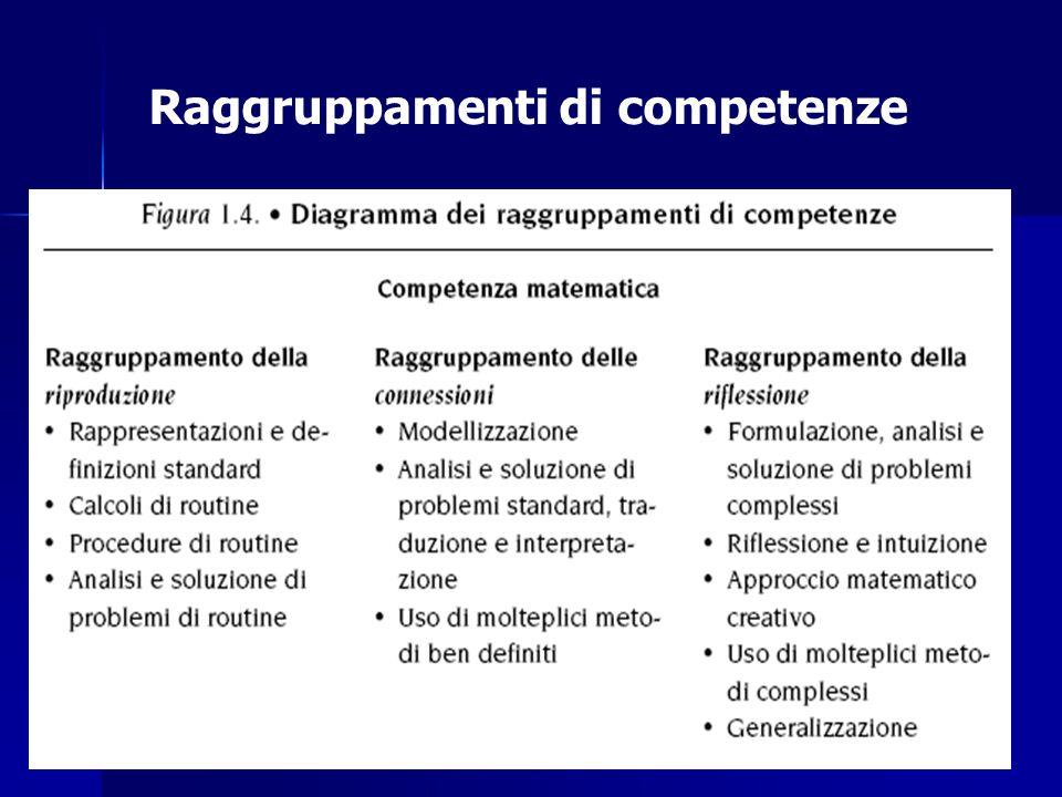 Raggruppamenti di competenze