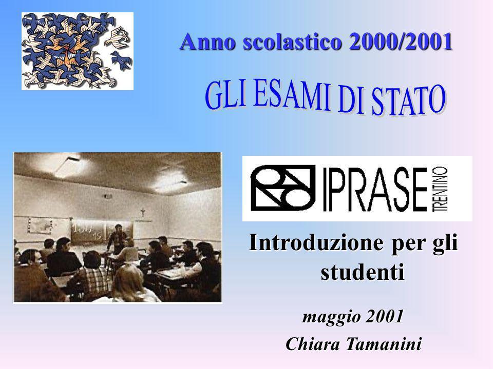 Introduzione per gli studenti
