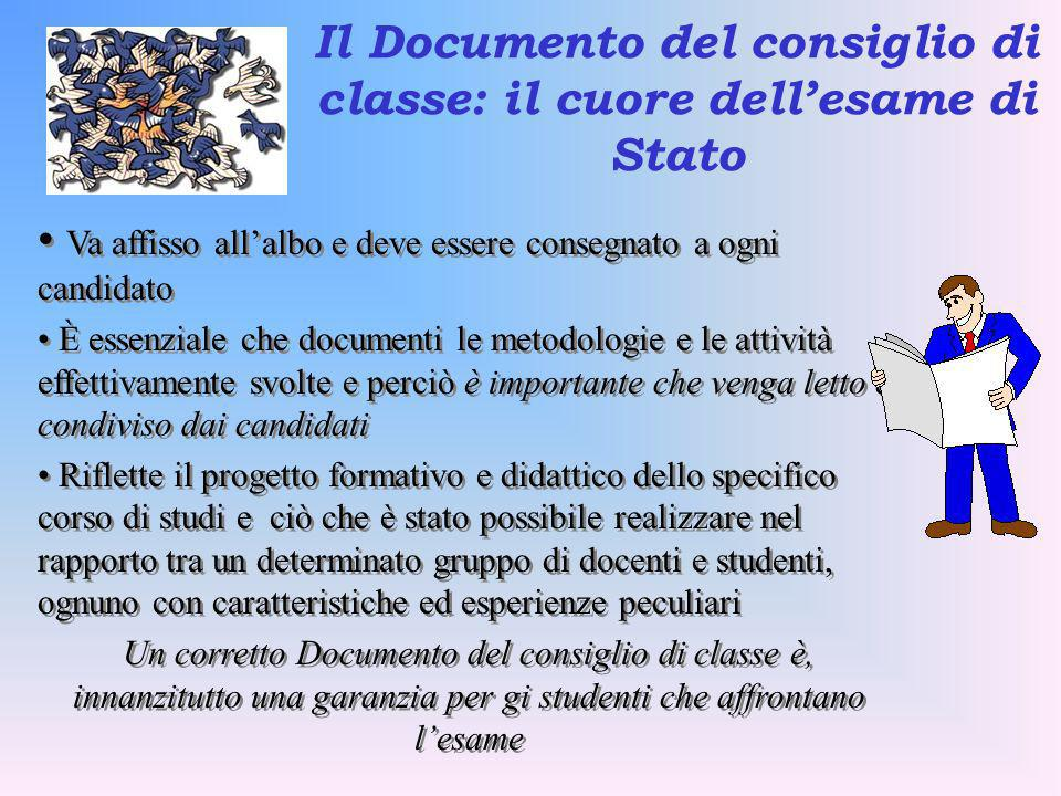 Il Documento del consiglio di classe: il cuore dell'esame di Stato