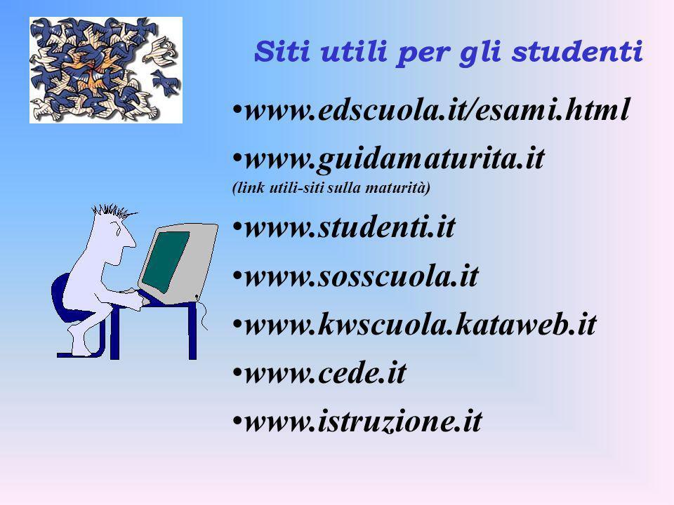 Siti utili per gli studenti