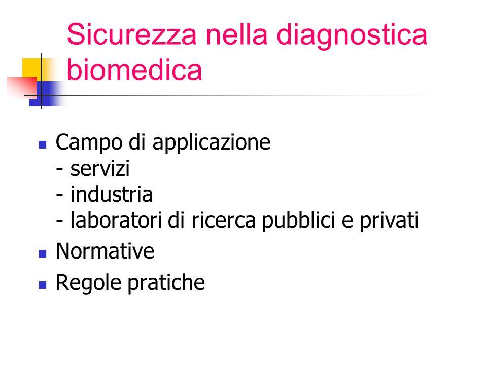 Sicurezza nella diagnostica biomedica