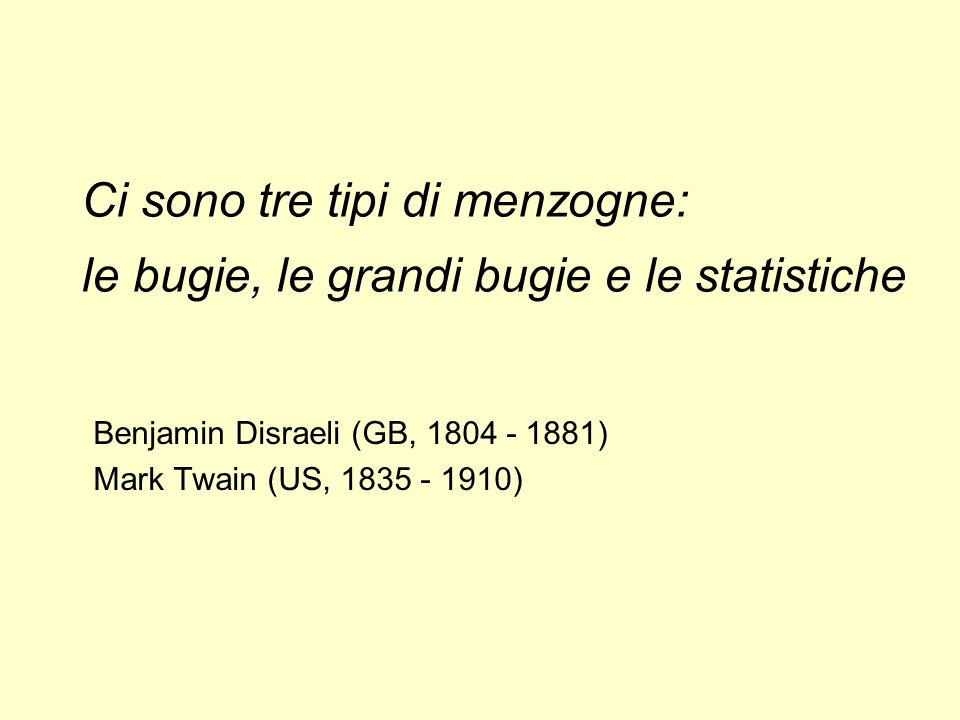 Benjamin Disraeli (GB, 1804 - 1881) Mark Twain (US, 1835 - 1910)