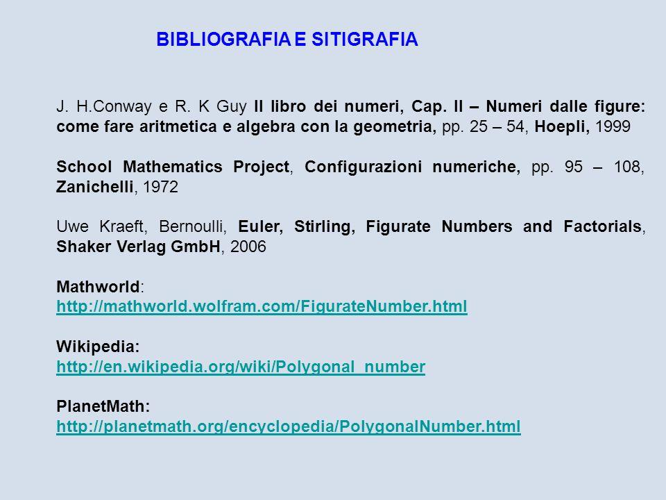 BIBLIOGRAFIA E SITIGRAFIA