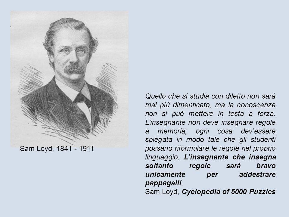 Sam Loyd, 1841 - 1911