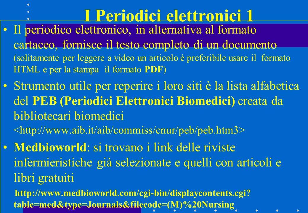 I Periodici elettronici 1