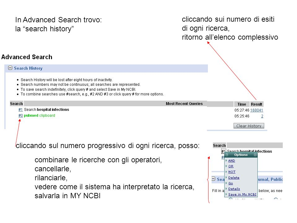 In Advanced Search trovo: