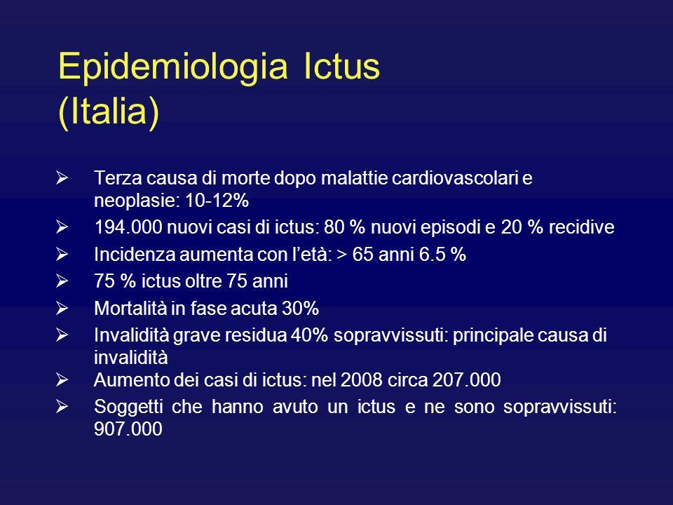 Epidemiologia Ictus (Italia)