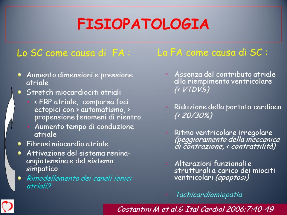 Costantini M et al.G Ital Cardiol 2006;7:40-49