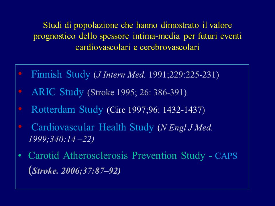 Finnish Study (J Intern Med. 1991;229:225-231)