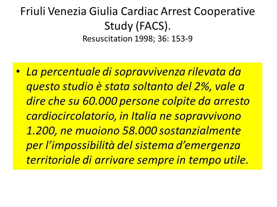 Friuli Venezia Giulia Cardiac Arrest Cooperative Study (FACS)