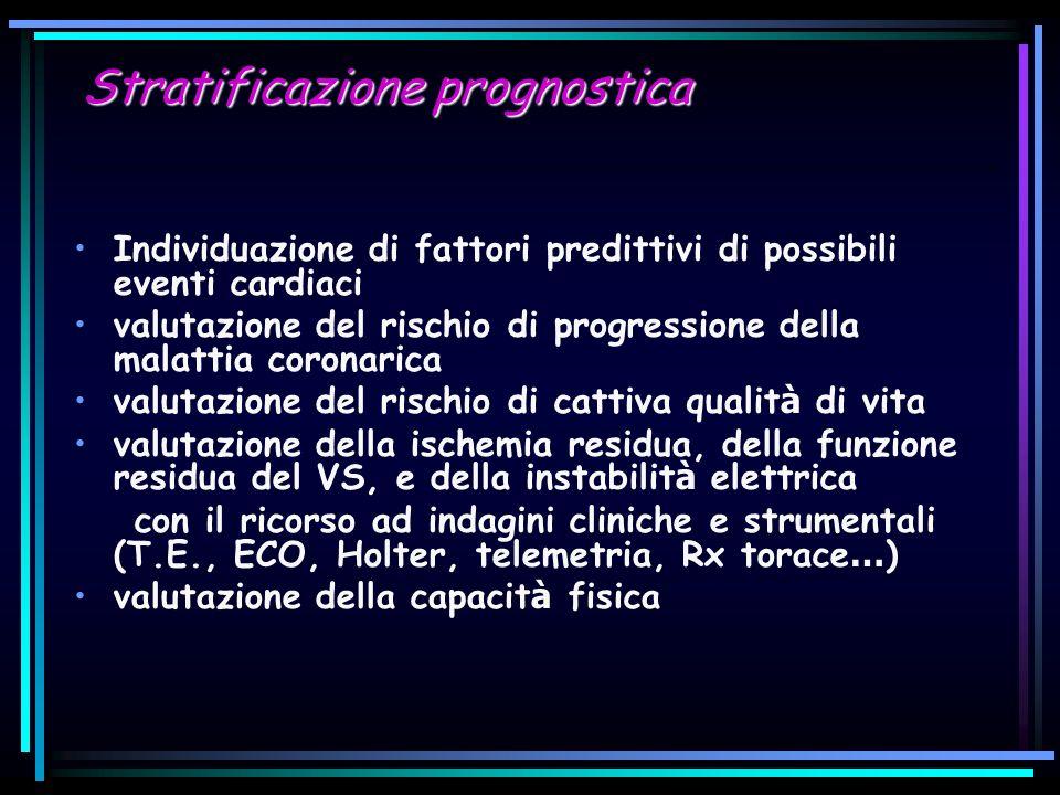 Stratificazione prognostica