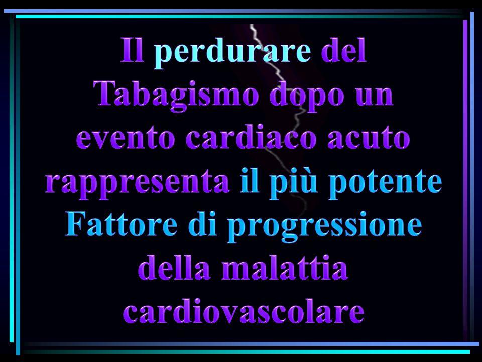evento cardiaco acuto rappresenta il più potente