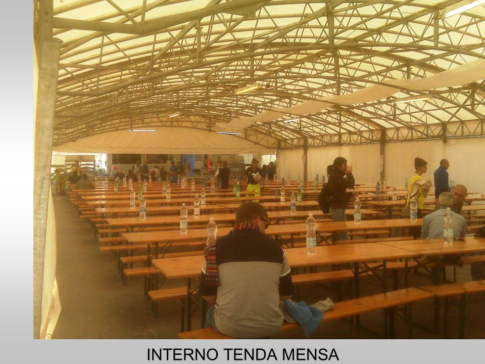 INTERNO TENDA MENSA