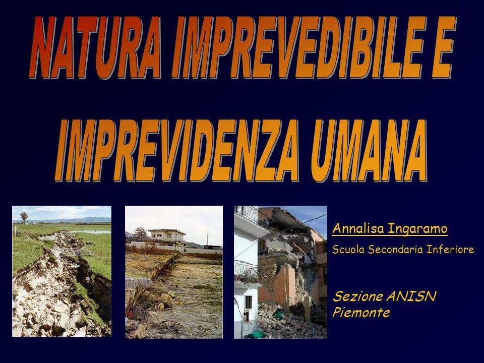 NATURA IMPREVEDIBILE E