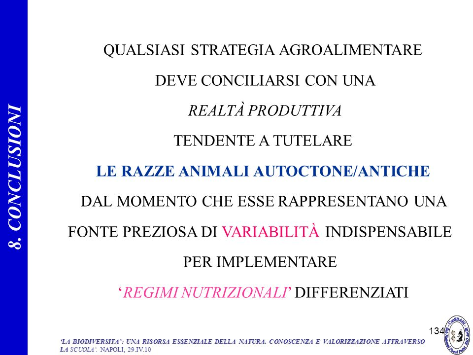 LE RAZZE ANIMALI AUTOCTONE/ANTICHE