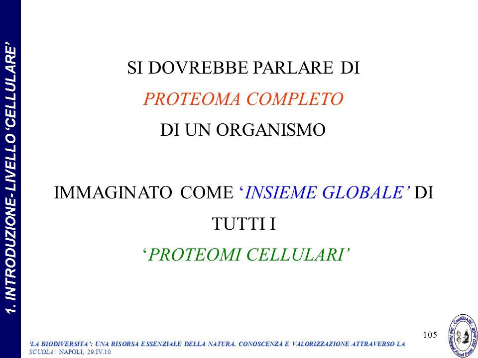 1. INTRODUZIONE- LIVELLO 'CELLULARE'