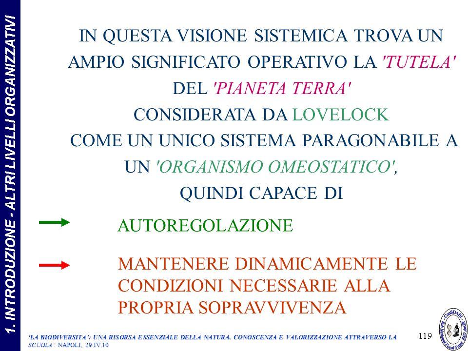 1. INTRODUZIONE - ALTRI LIVELLI ORGANIZZATIVI