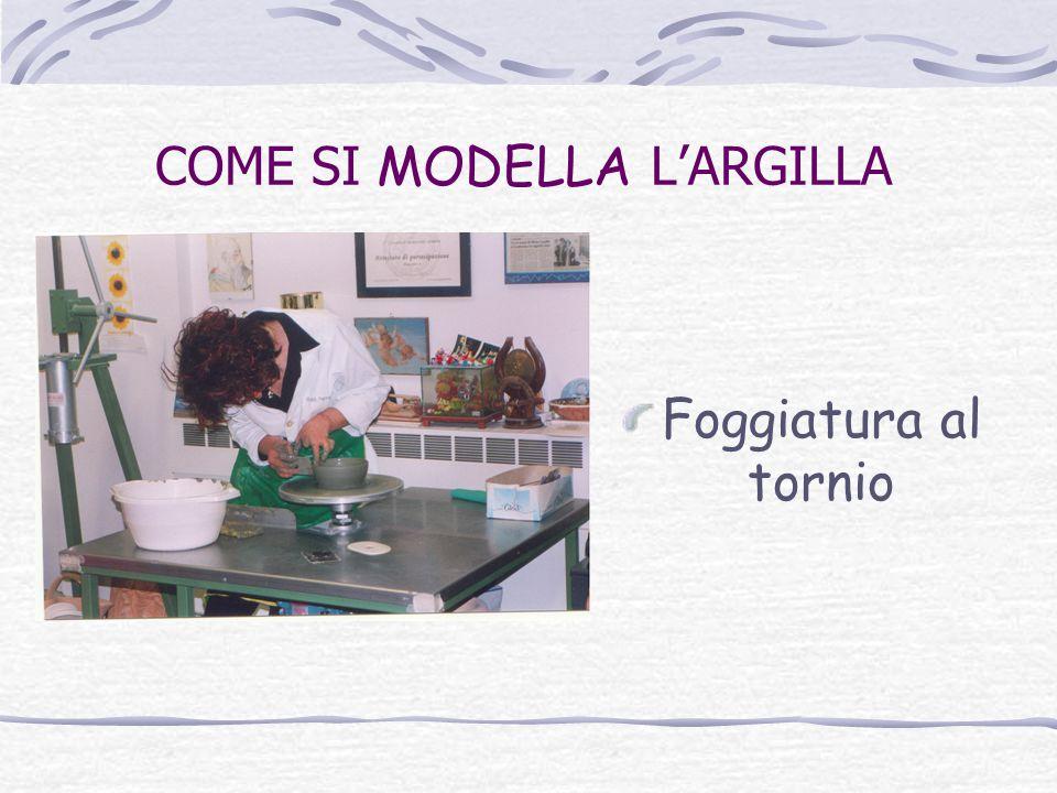 COME SI MODELLA L'ARGILLA