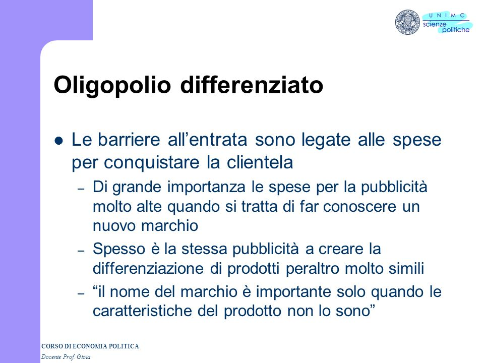Oligopolio differenziato