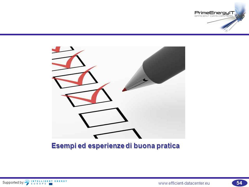 Esempi ed esperienze di buona pratica