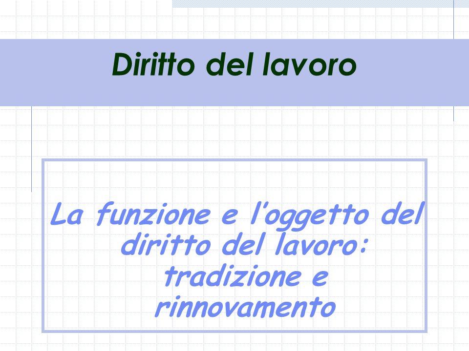 Diritto del lavoro A/L 2001-02