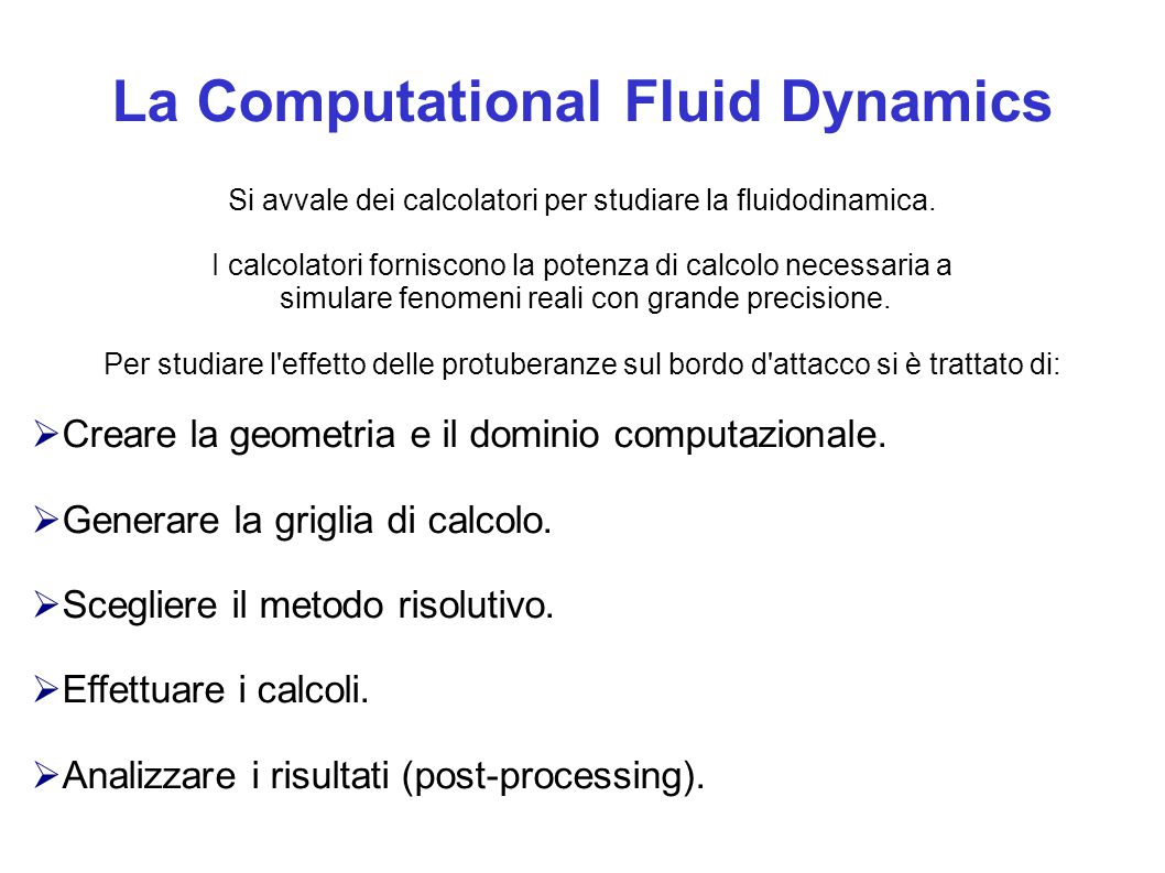 La Computational Fluid Dynamics