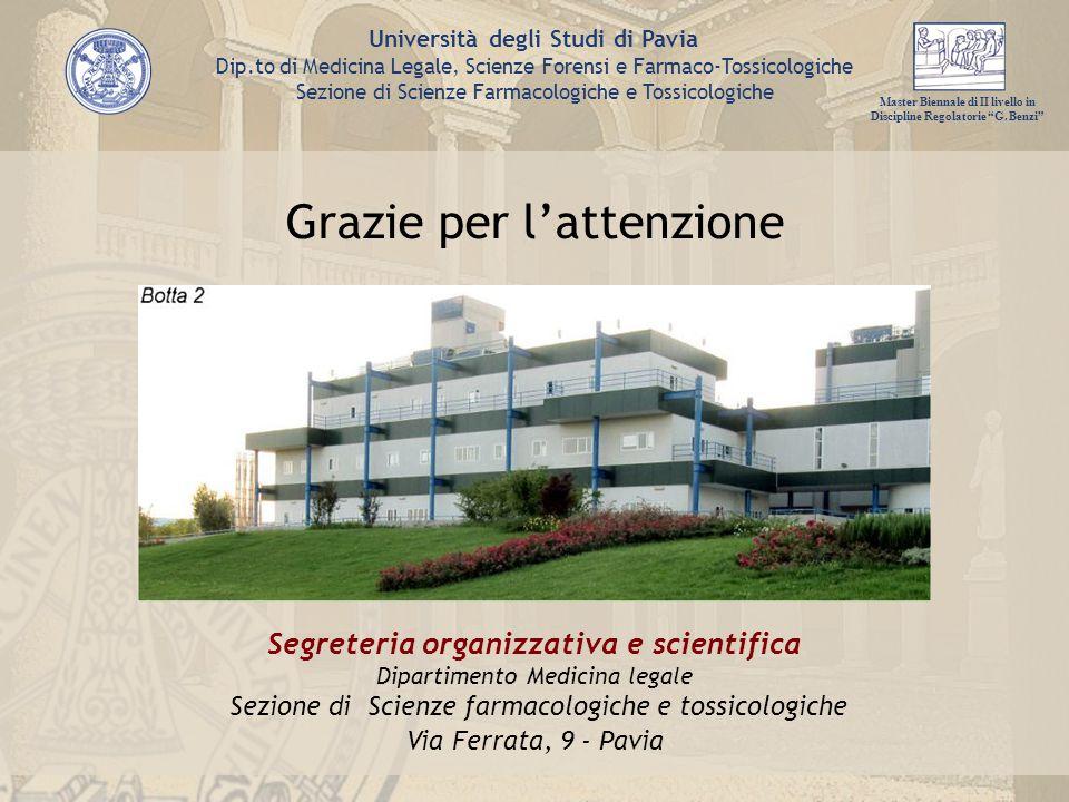 Segreteria organizzativa e scientifica