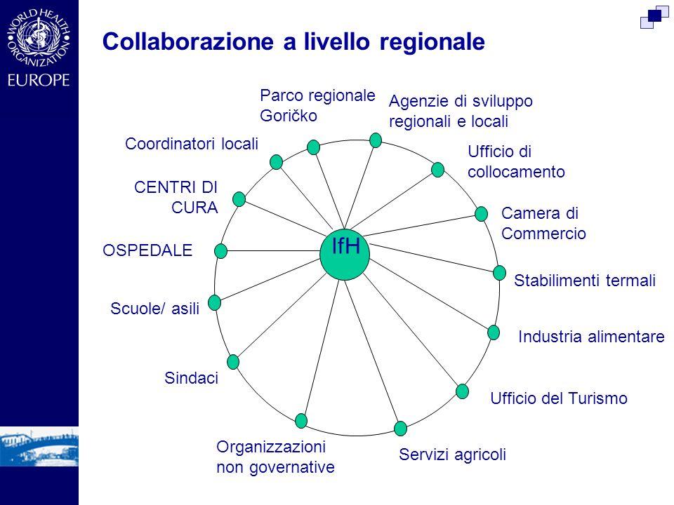Collaborazione a livello regionale