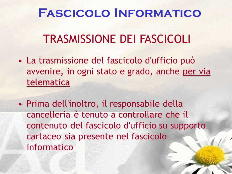 Fascicolo Informatico