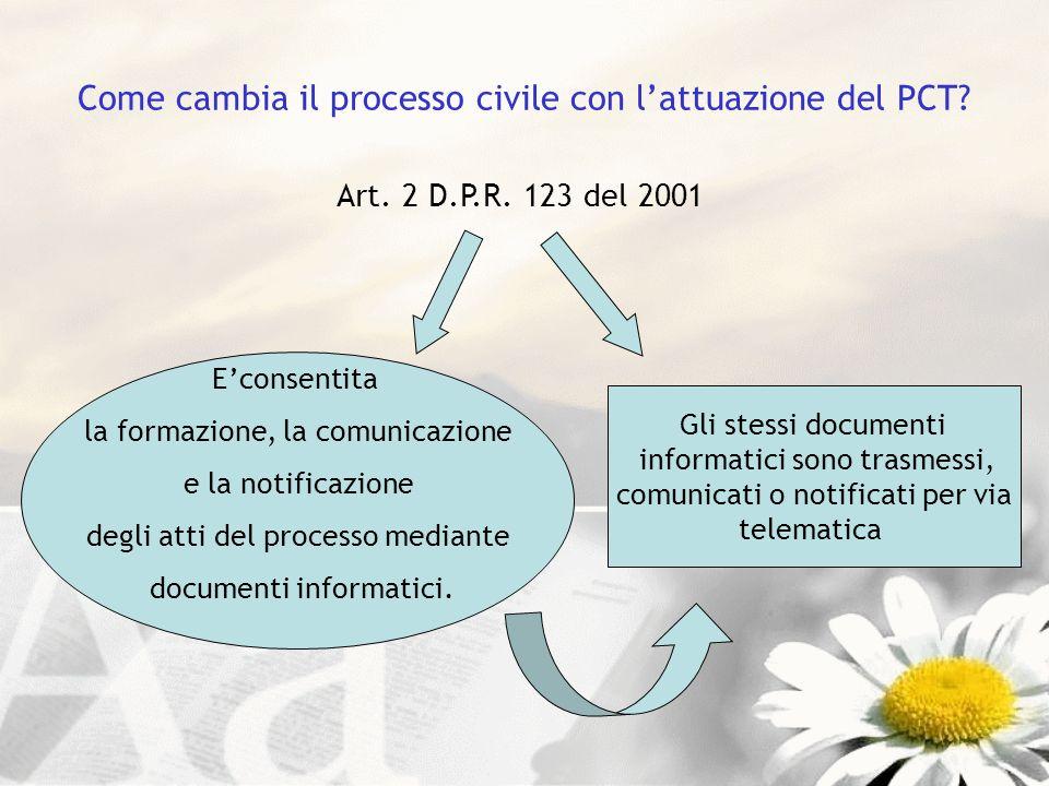 Come cambia il processo civile con l'attuazione del PCT