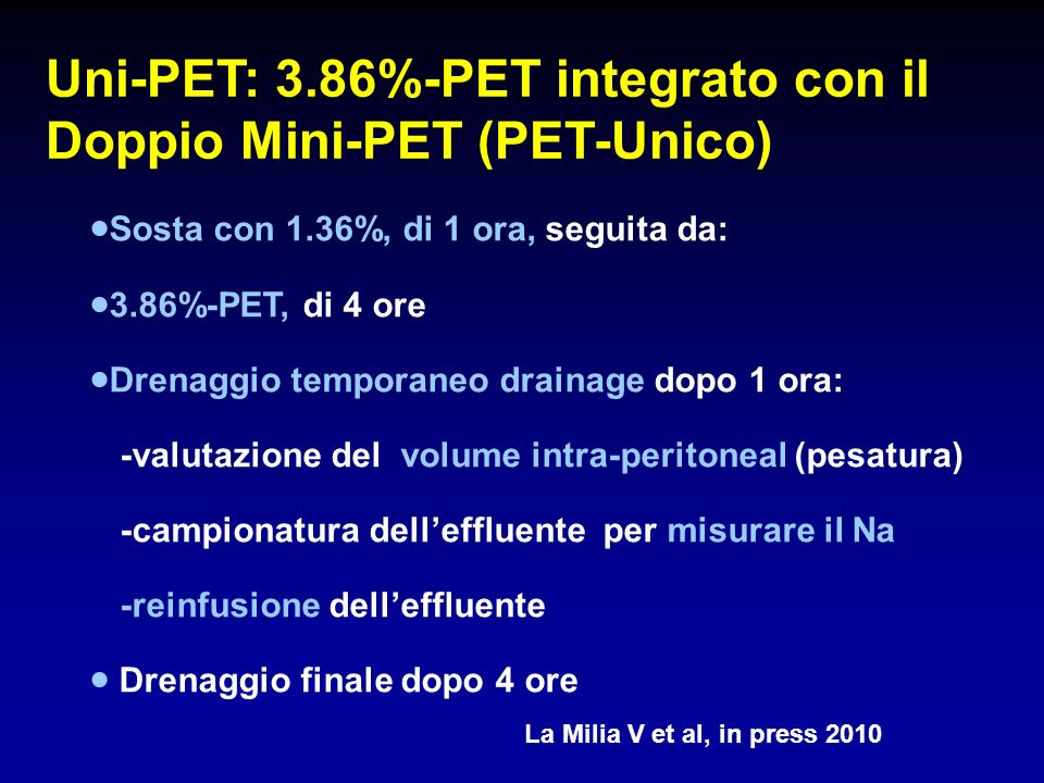 Uni-PET: 3.86%-PET integrato con il Doppio Mini-PET (PET-Unico)