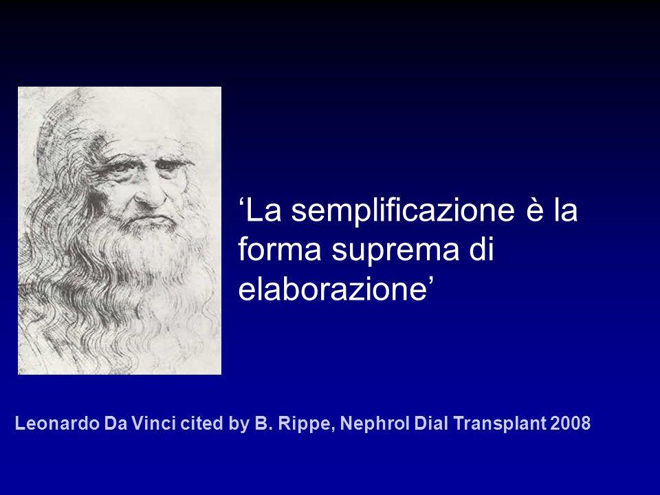 'La semplificazione è la forma suprema di elaborazione'