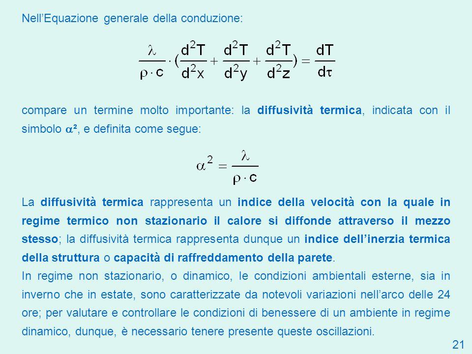 Nell'Equazione generale della conduzione:
