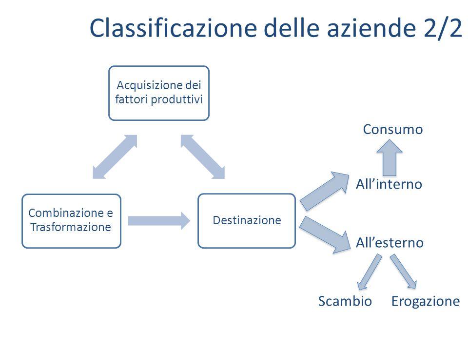 Classificazione delle aziende 2/2