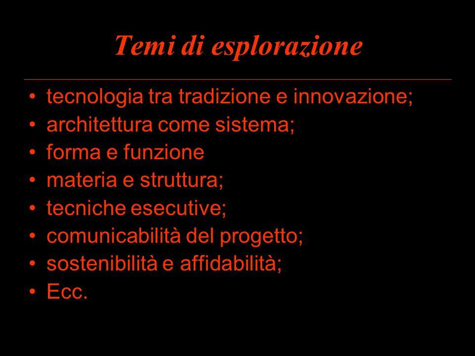 Temi di esplorazione tecnologia tra tradizione e innovazione;