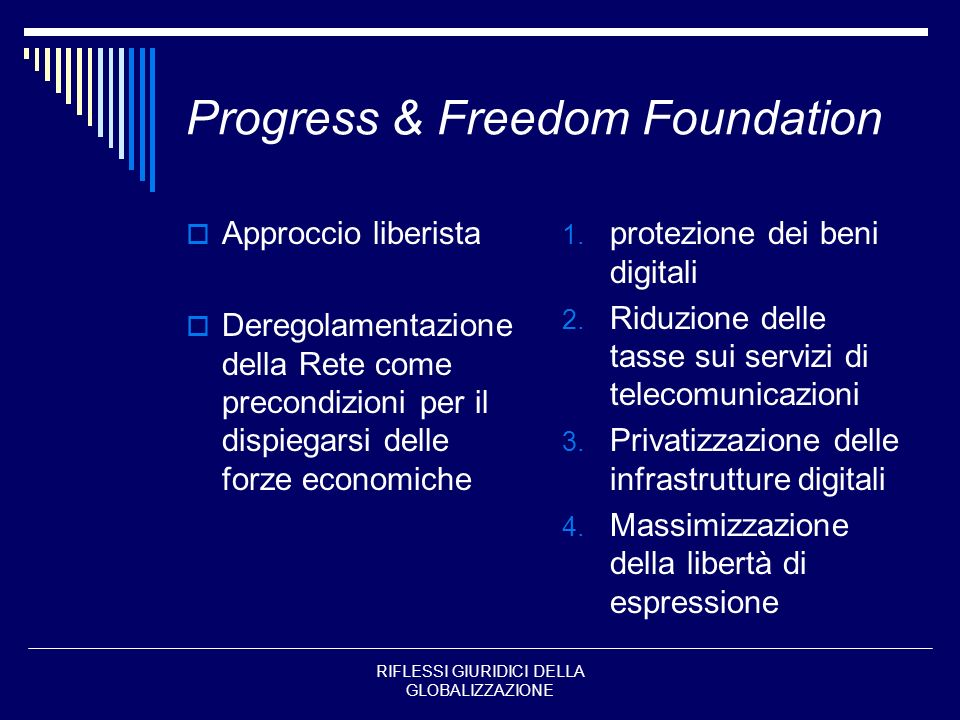 Progress & Freedom Foundation