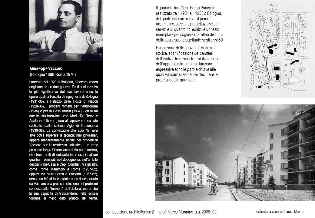 composizione architettonica 2 prof. Marco Mannino a.a. 2008_09