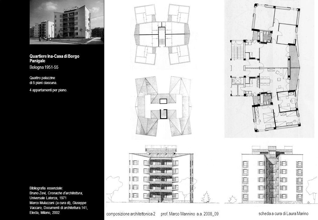 Quartiere Ina-Casa di Borgo Panigale Bologna 1951-55