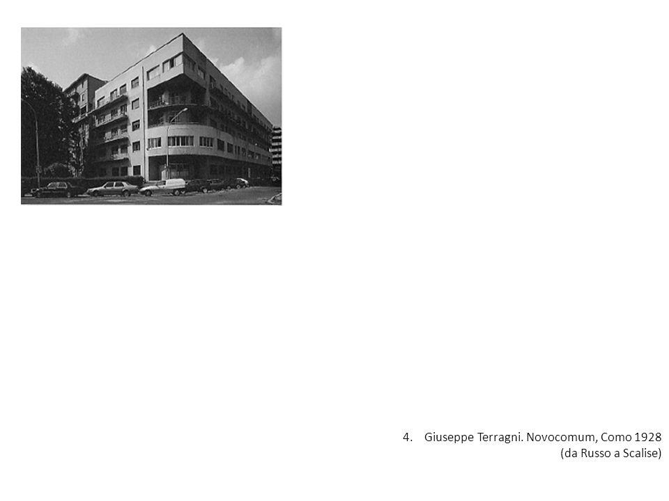 4. Giuseppe Terragni. Novocomum, Como 1928