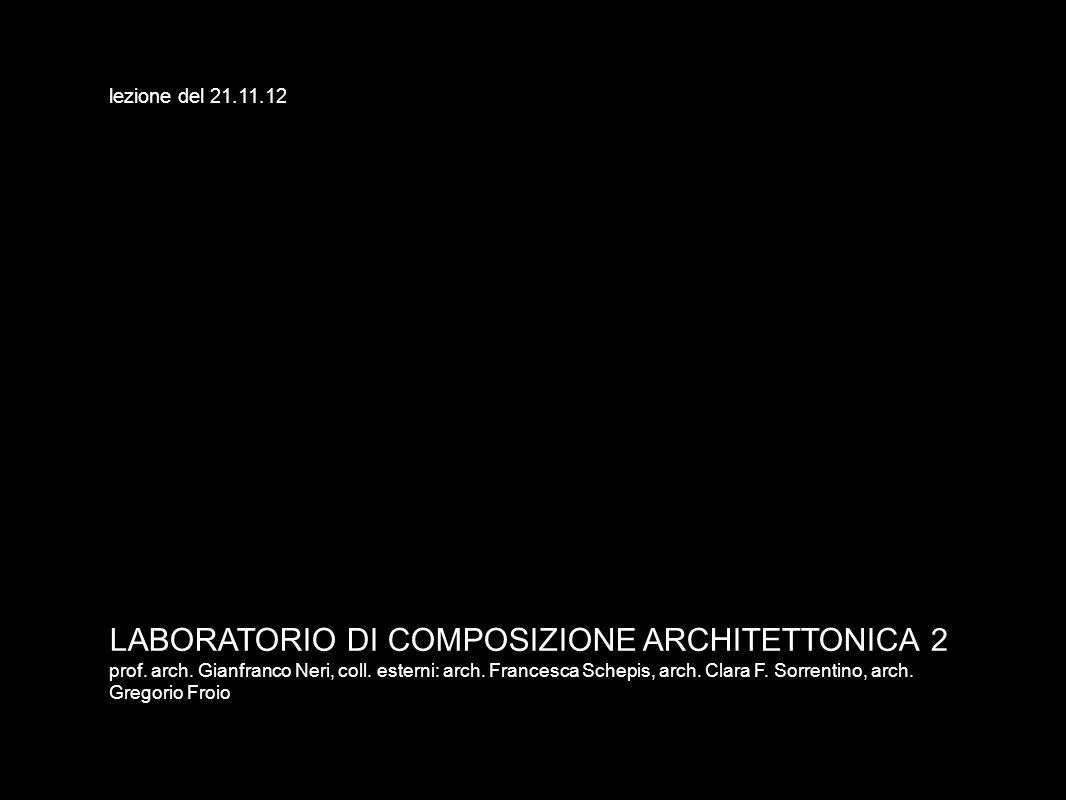 LABORATORIO DI COMPOSIZIONE ARCHITETTONICA 2