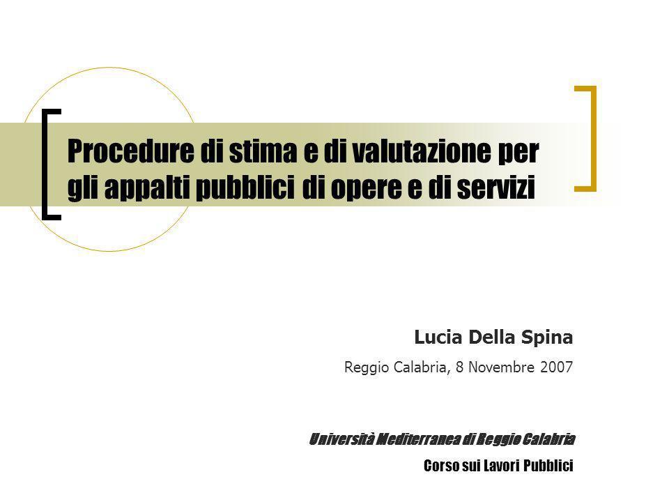 Lucia Della Spina Reggio Calabria, 8 Novembre 2007