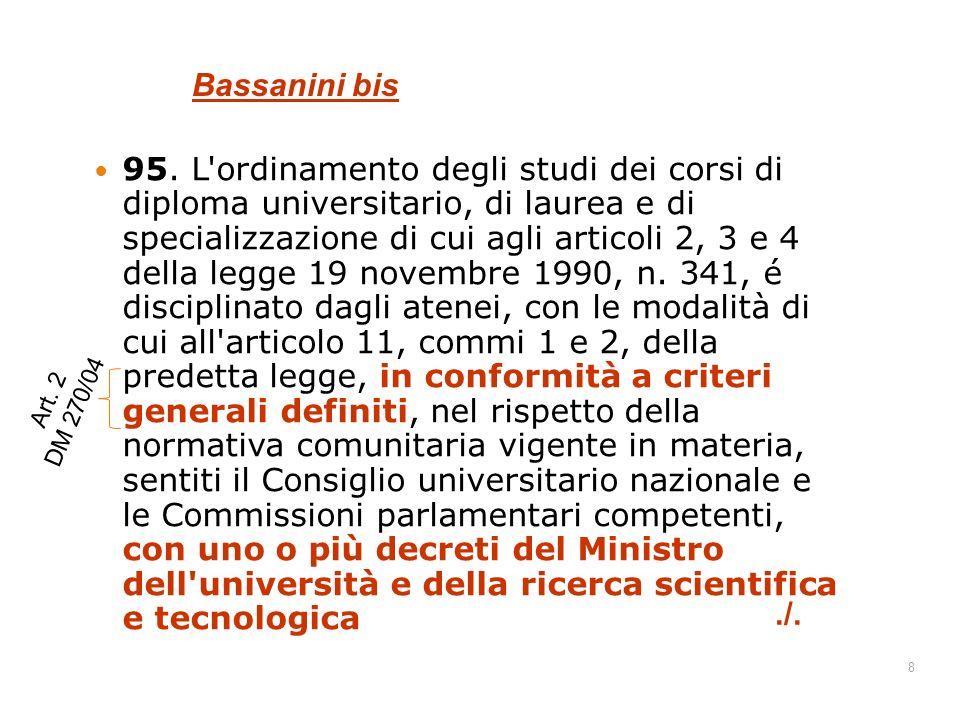 Bassanini bis
