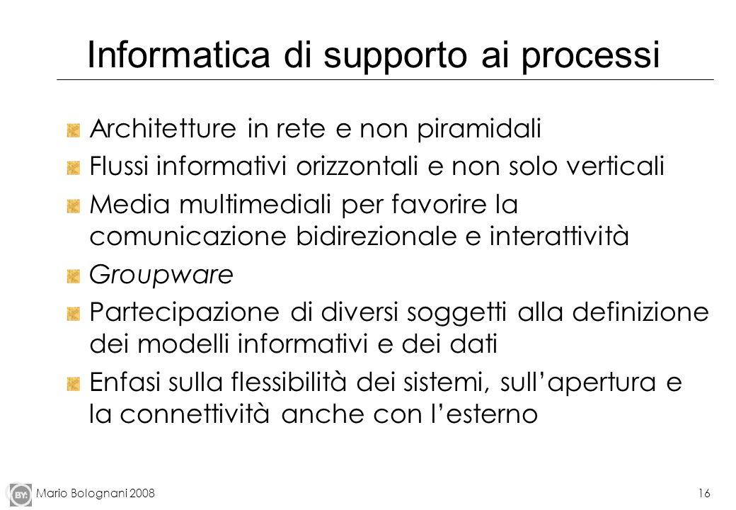 Informatica di supporto ai processi