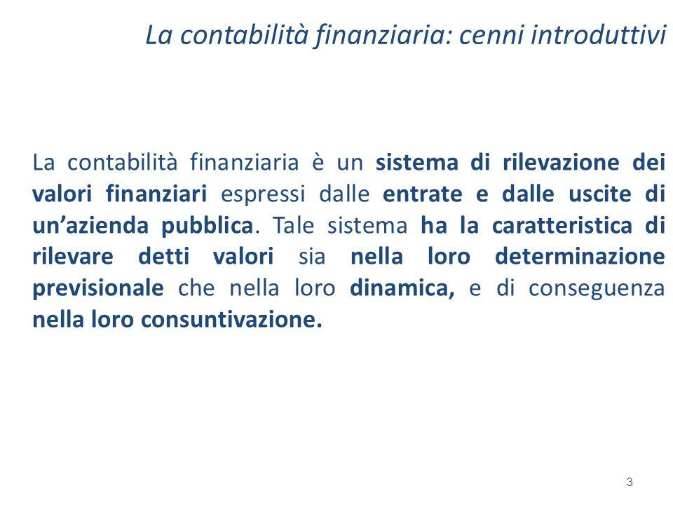 La contabilità finanziaria: cenni introduttivi