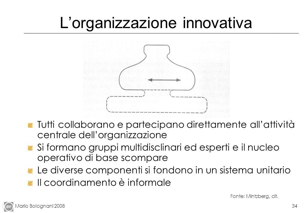 L'organizzazione innovativa